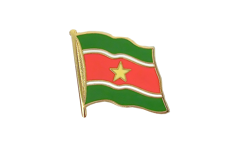Flag Lapel Pin Suriname