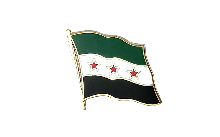 Flag Lapel Pin Syria 1932-1958