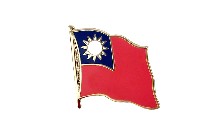 Flag Lapel Pin Taiwan