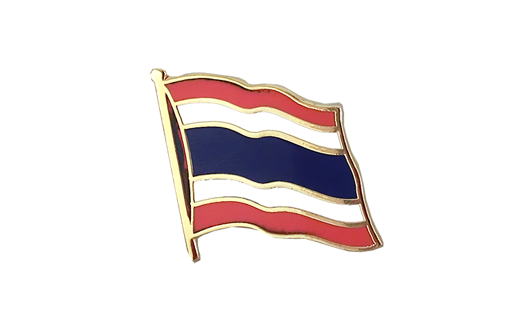 Flag Lapel Pin Thailand