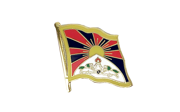 Flag Lapel Pin Tibet