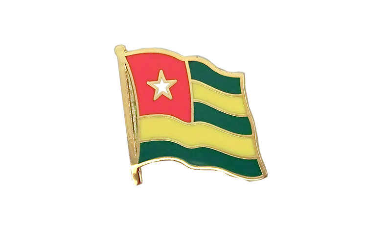 Flag Lapel Pin Togo