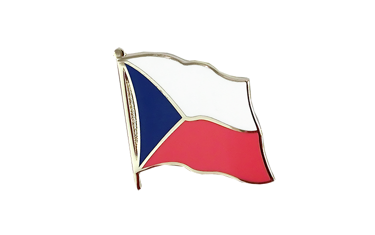 Flag Lapel Pin Czech Republic
