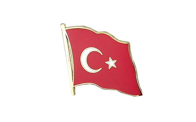 Flag Lapel Pin Turkey