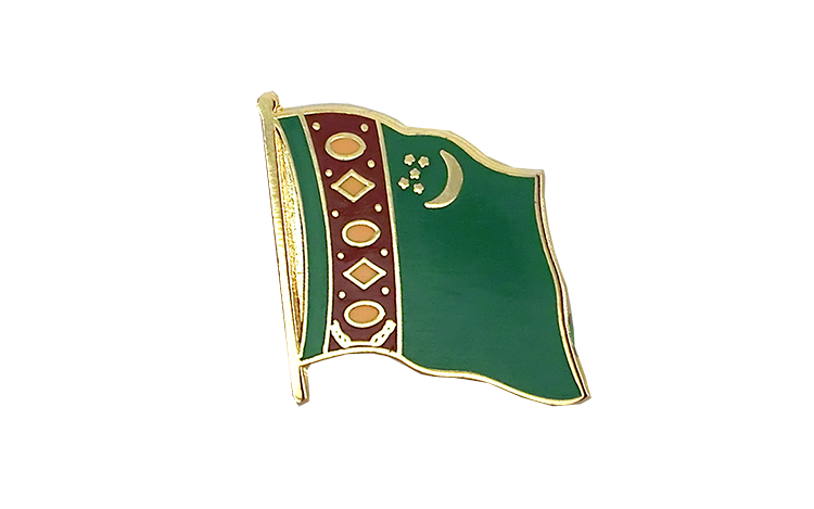Flag Lapel Pin Turkmenistan
