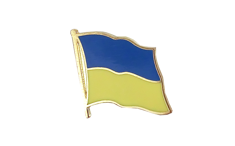 Flag Lapel Pin Ukraine