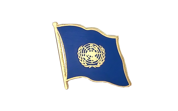 Flag Lapel Pin UNO