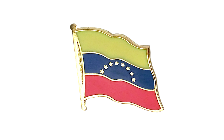 Flag Lapel Pin Venezuela 8 stars
