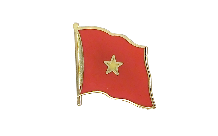 Flag Lapel Pin Vietnam
