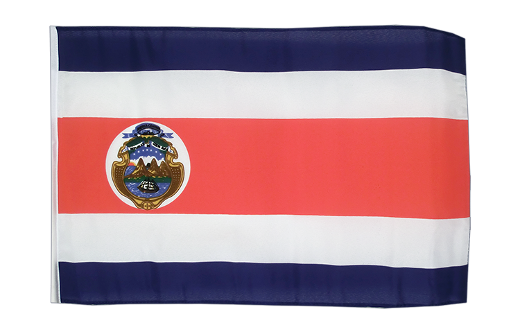 Small Costa Rica Flag 12x18""