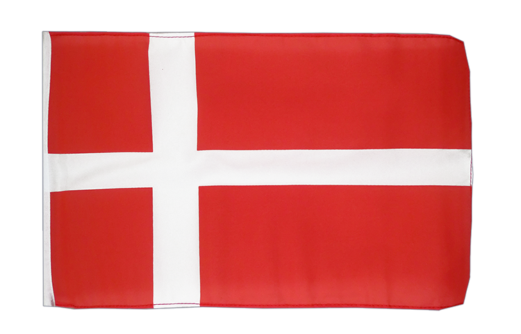 Denmark - 12x18 in Flag