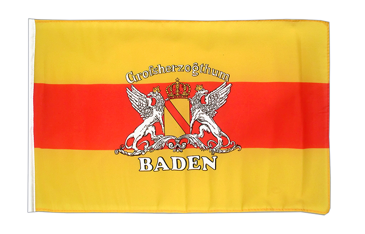Baden with crest - 12x18 in Flag