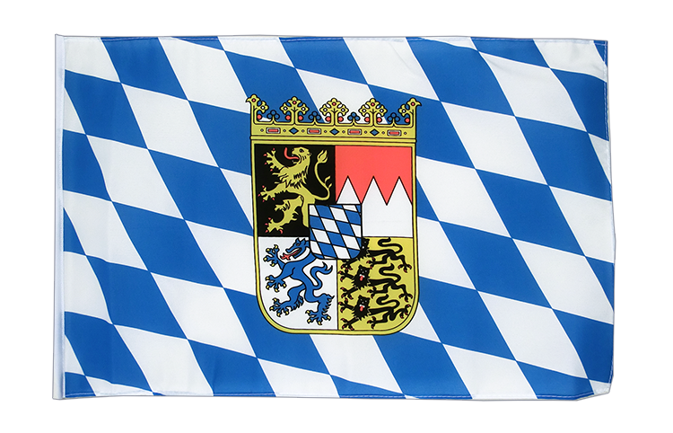 Small Bavaria with crest Flag 12x18""