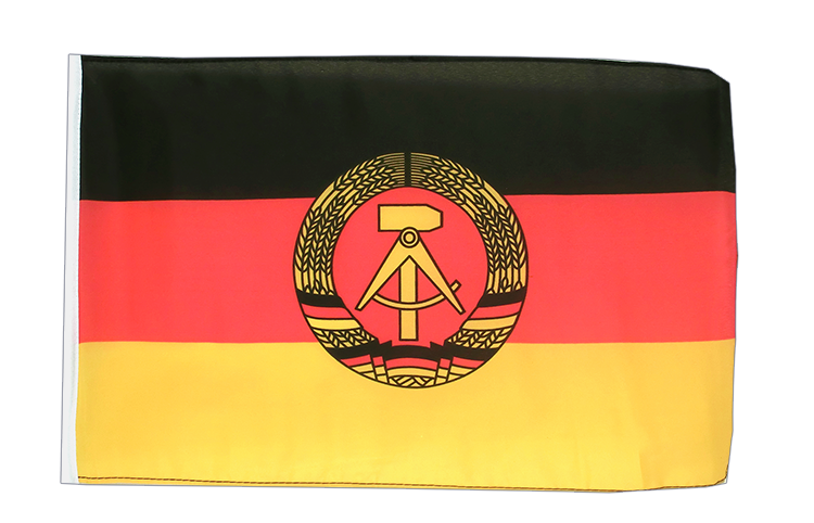 Small GDR Flag - 12x18""