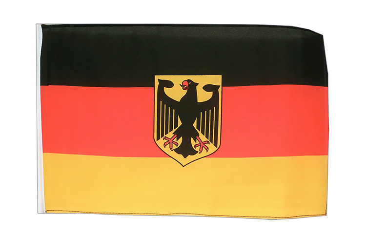 Small Flag Germany Dienstflagge - 12x18""