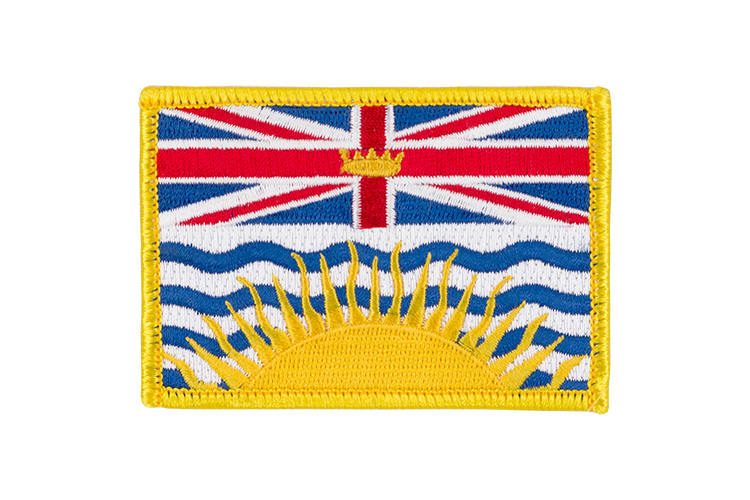 British Columbia Flag Patch