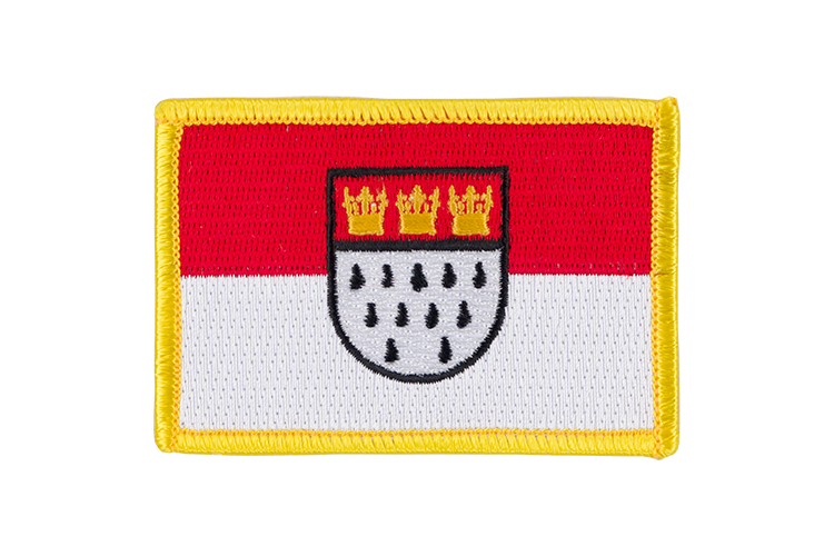 Cologne Flag Patch