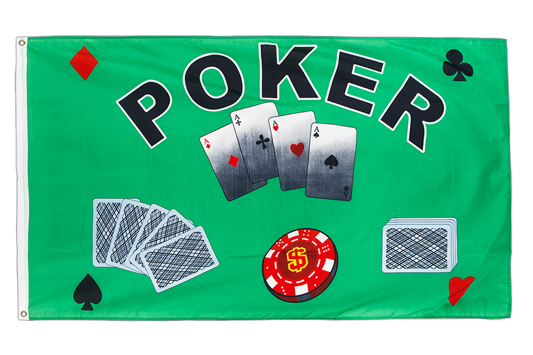 Poker - 3x5 ft Flag