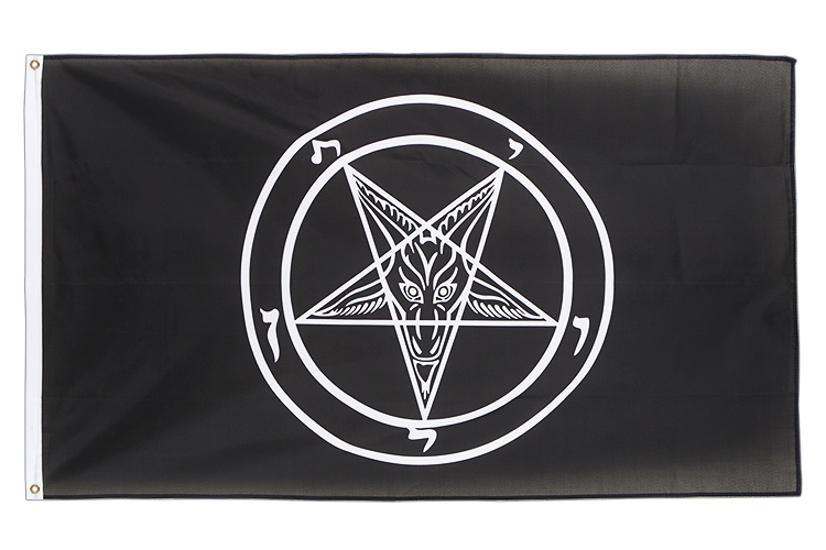 Baphomet - 3x5 ft Flag