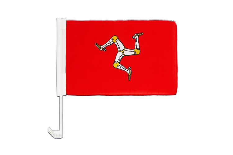 Car Flag Isle of man - 12x16""