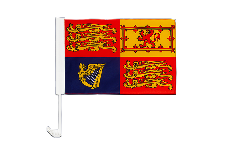 Great Britain Royal Car Flag 12x16""