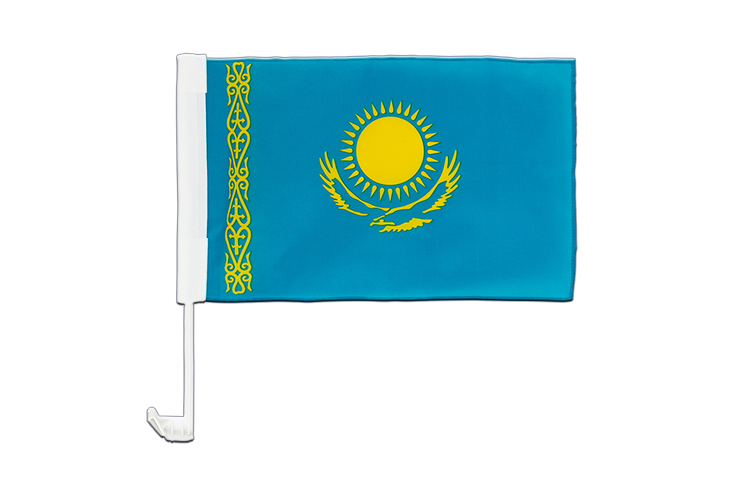 Car Flag Kazakhstan - 12x16""