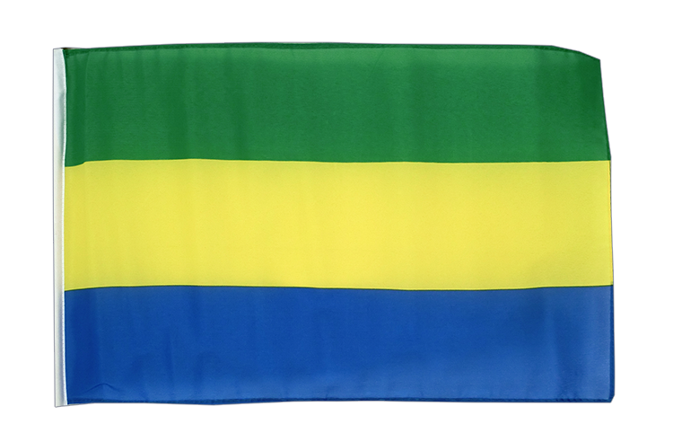 Gabon - 12x18 in Flag