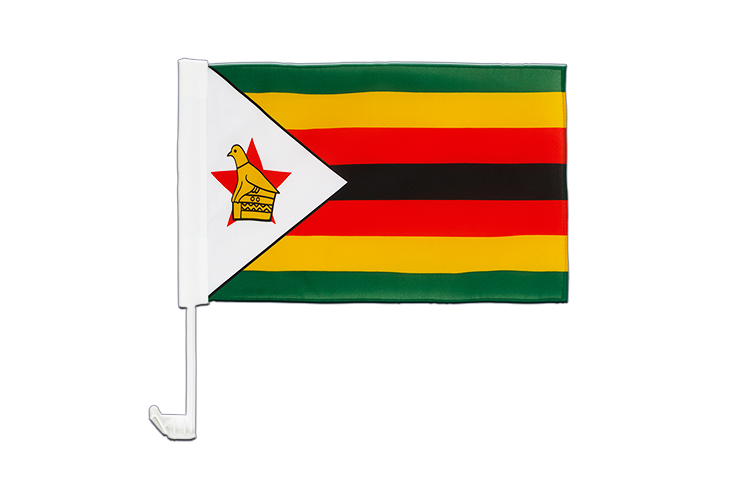 Zimbabwe Car Flag