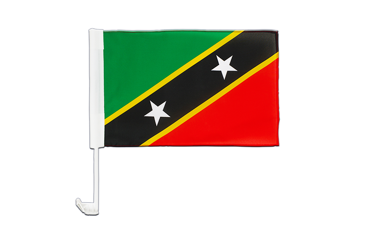 Saint Kitts and Nevis Car Flag 12x16""