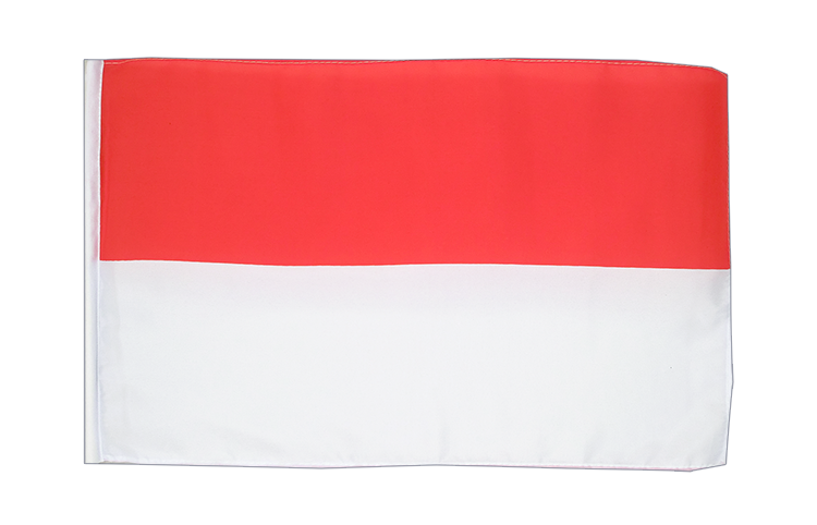 Small Flag Indonesia - 12x18""