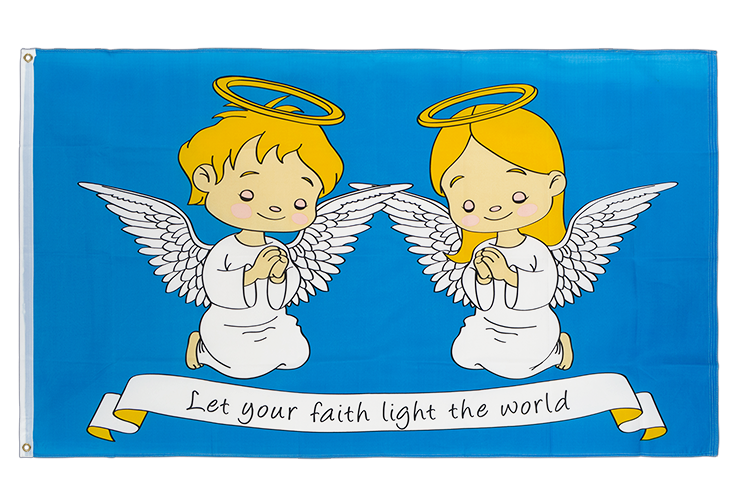 Angels In Faith - 3x5 ft Flag