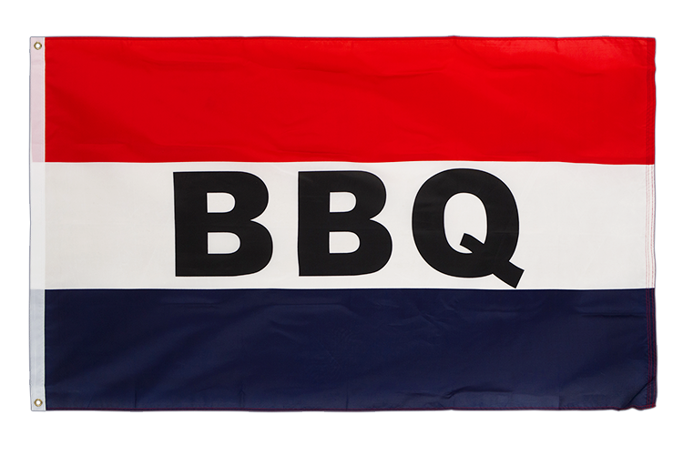BBQ Barbecue - 3x5 ft Flag