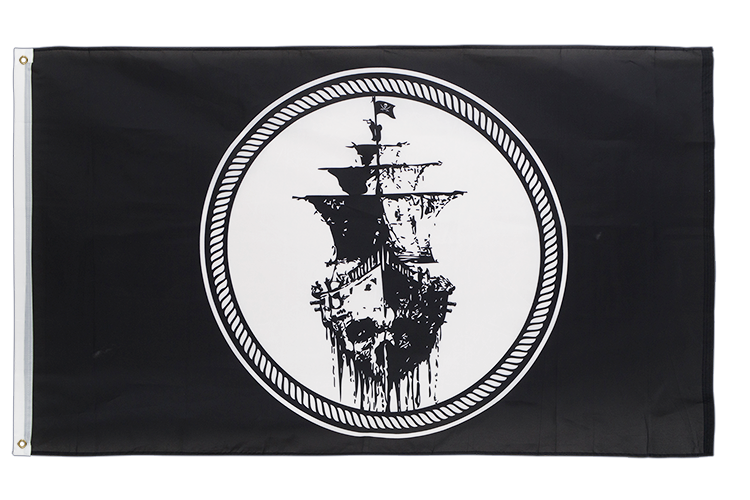 Vente drapeau Pirate Black Sea
