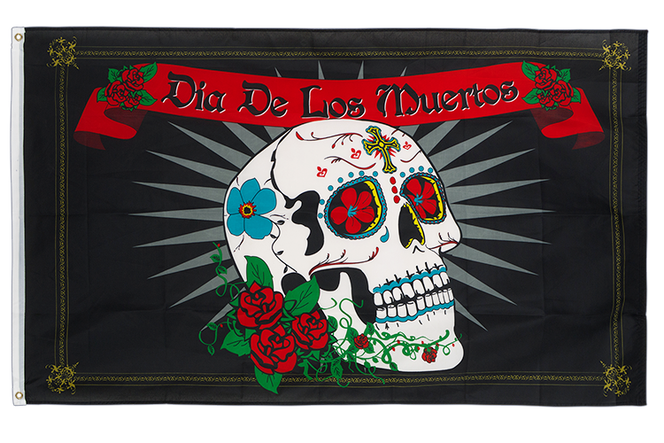 3x5 Day of the Dead Flag
