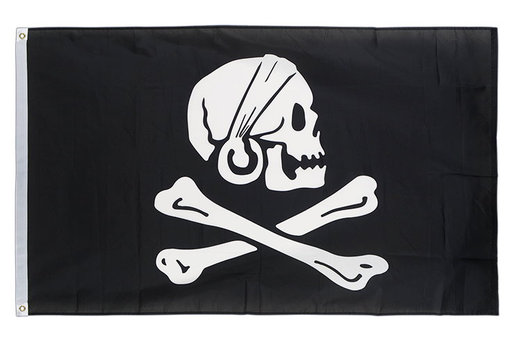 Pirate Henry Avery - 3x5 ft Flag