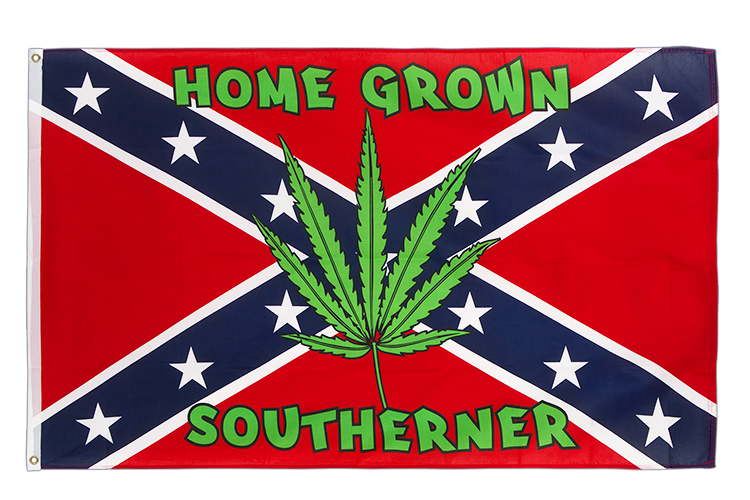 USA Südstaaten Home Grown Southerner Flagge - 90 x 150 cm