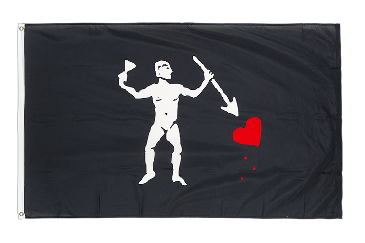 Pirate John Quelch Variation - 3x5 ft Flag