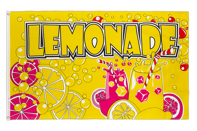 Lemonade - 3x5 ft Flag