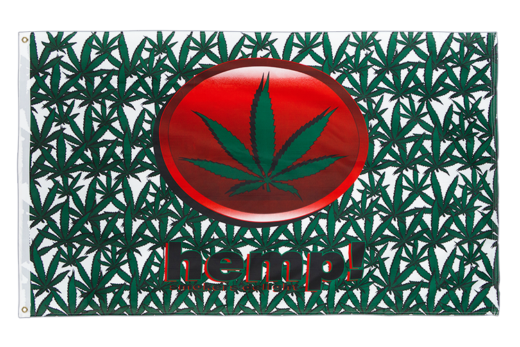 Marijuana Hemp - 3x5 ft Flag