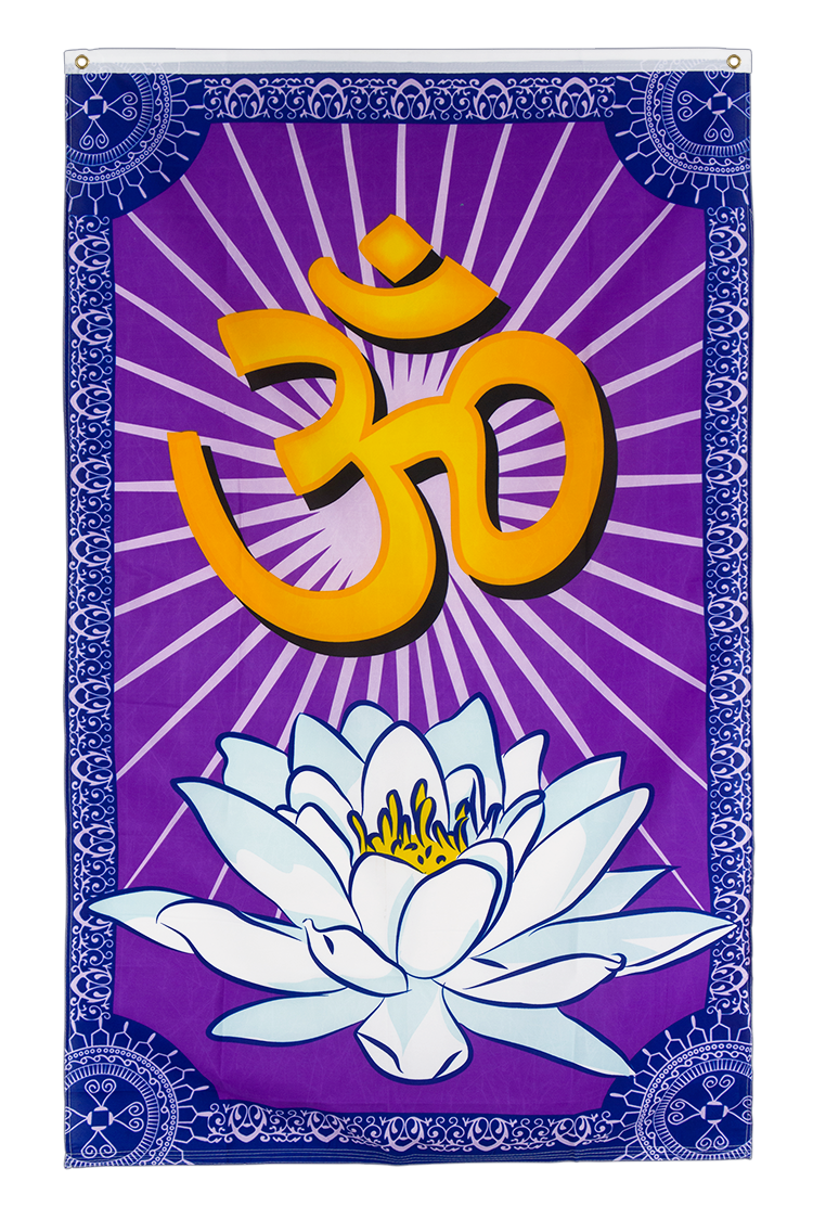 OM Aum Ohm - 3x5 ft Flag