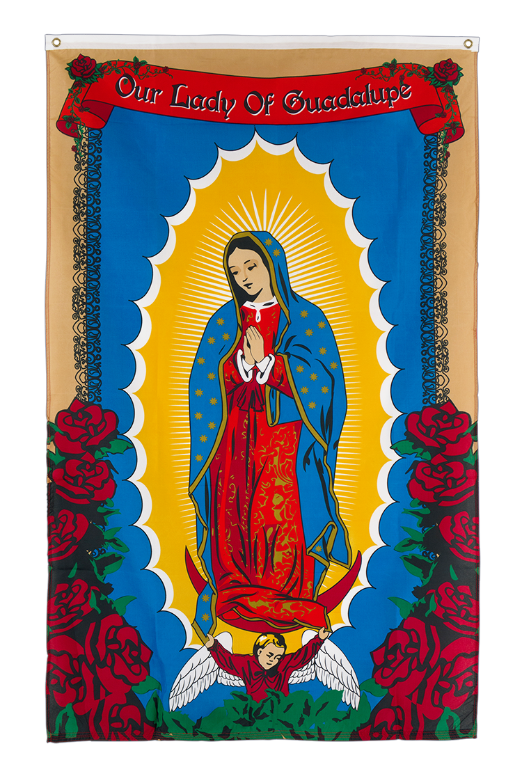 Lady of Guadalupe - 3x5 ft Flag