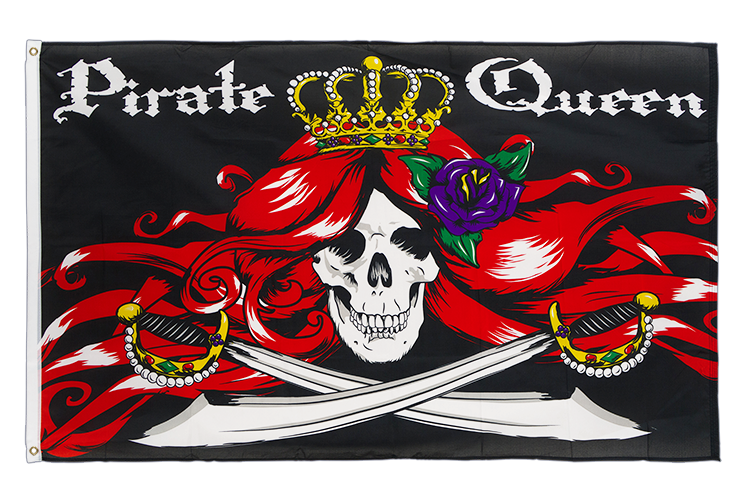 Pirate Queen - 3x5 ft Flag