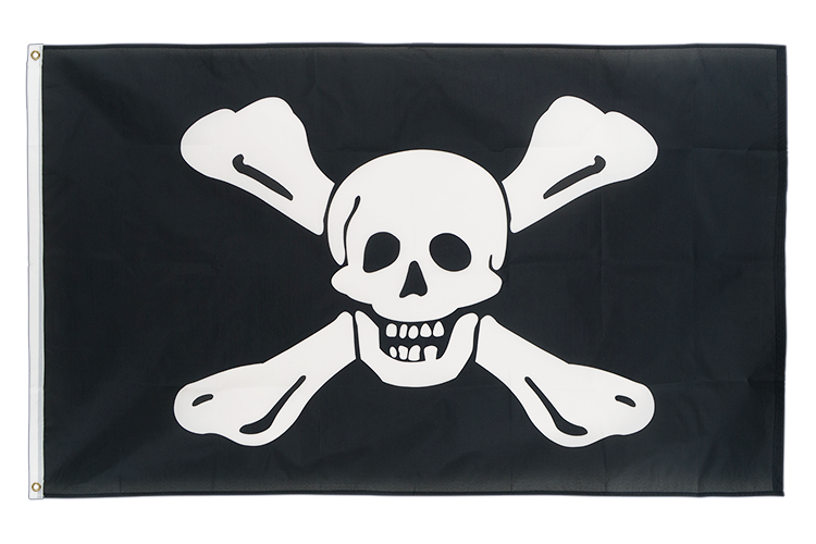 Pirate Richard Worley - 3x5 ft Flag