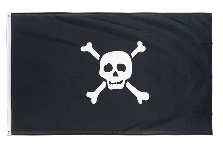 Pirate Richard Worley small - 3x5 ft Flag