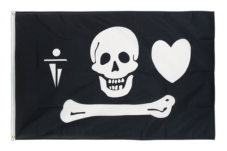 Pirate Stede Bonnet - 3x5 ft Flag