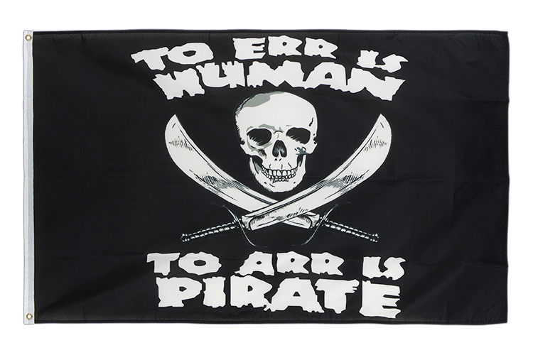 Pirate Arr - 3x5 ft Flag