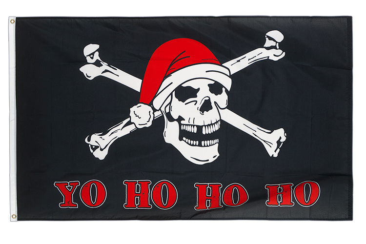 Pirate Yo Ho Ho Ho - 3x5 ft Flag