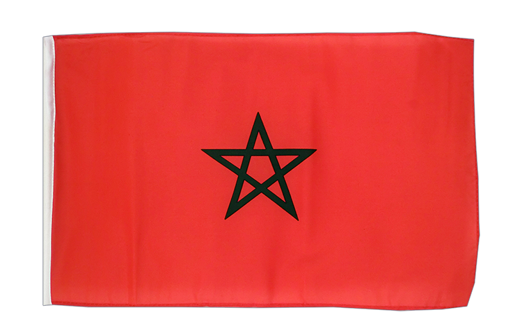 Morocco - 12x18 in Flag