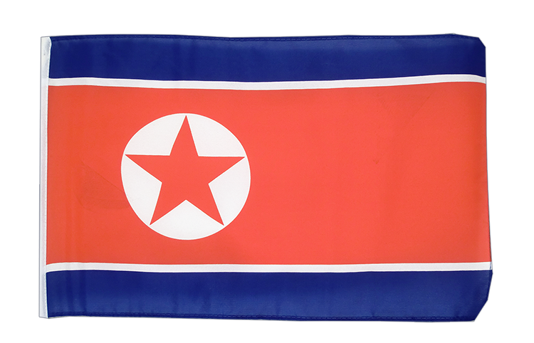 North corea - 12x18 in Flag