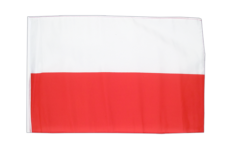 Small Poland Flag - 12x18""